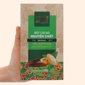 Bột ca cao nguyên chất CacaoMi Original hộp 127g