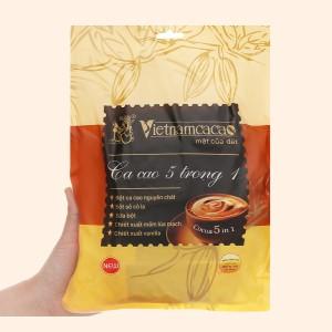 Bột ca cao Vietnamcacao 5 in 1 túi 320g