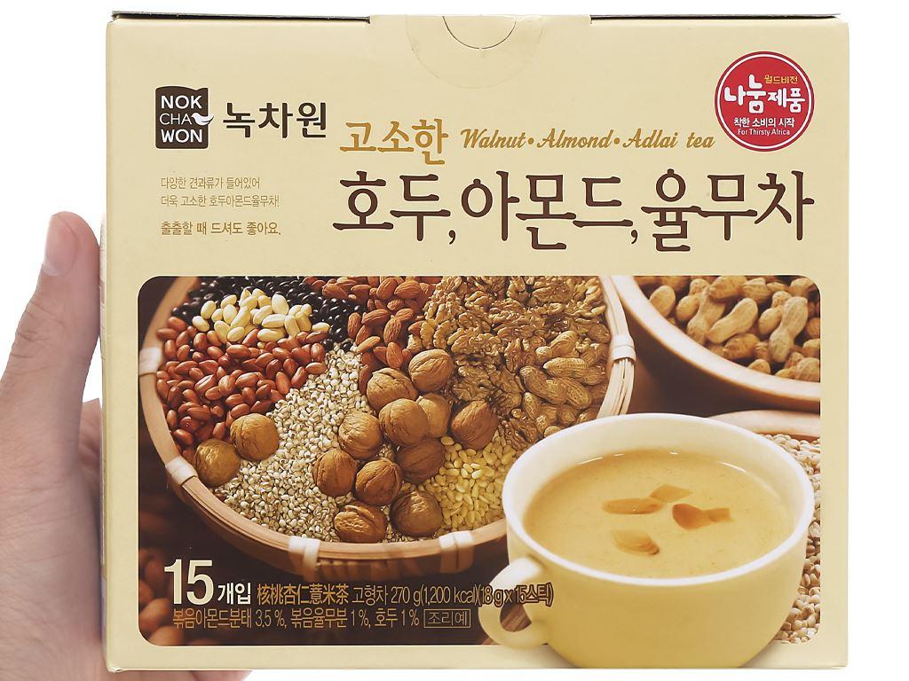 Bột uống hỗn hợp Nokchawon hộp 270g 6