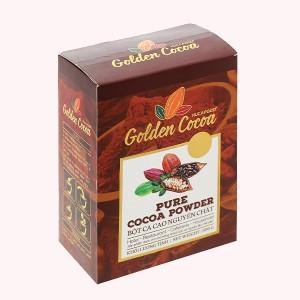 Bột ca cao nguyên chất Con chồn vàng Golden hộp 300g