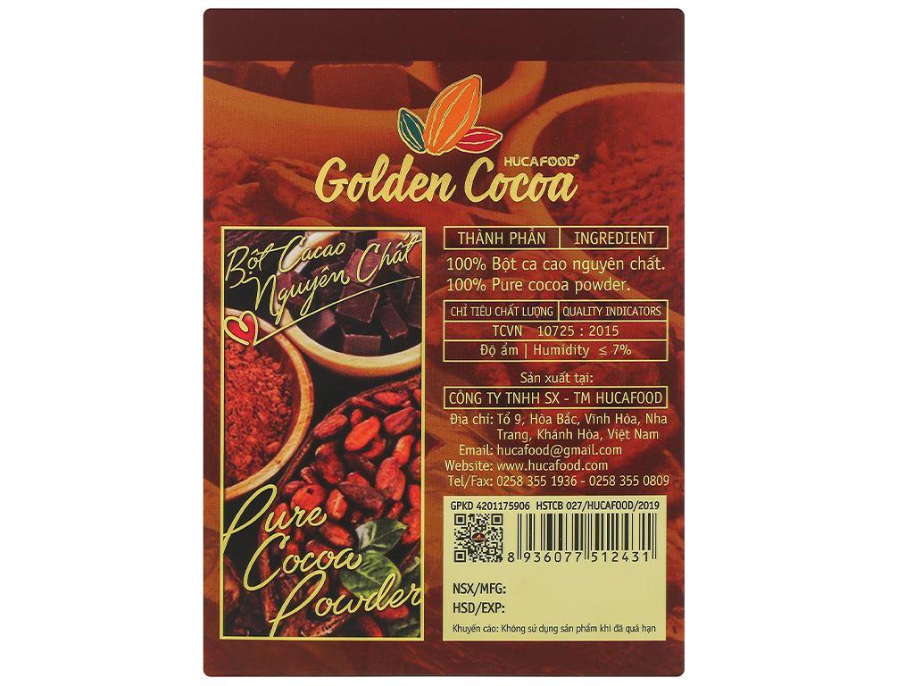 Bột ca cao nguyên chất Con chồn vàng Golden hộp 300g 3