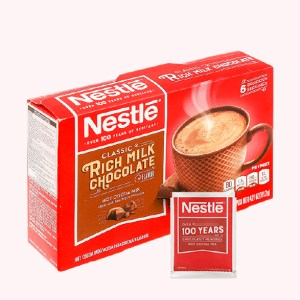 Thức uống cacao Nestlé Rich Milk Chocolate Hot Cocoa Mix hộp 121.2g