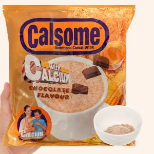Bột ngũ cốc vị chocolate Calsome bịch 500g