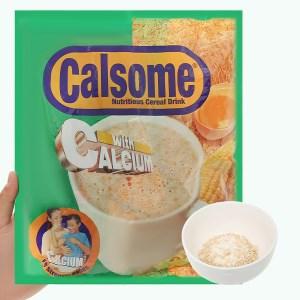 Bột ngũ cốc vị vanila Calsome bịch 500g