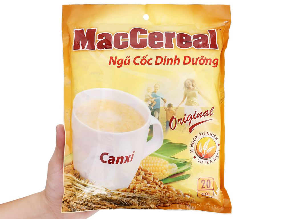 Ngũ cốc dinh dưỡng MacCereal bịch 560g 10
