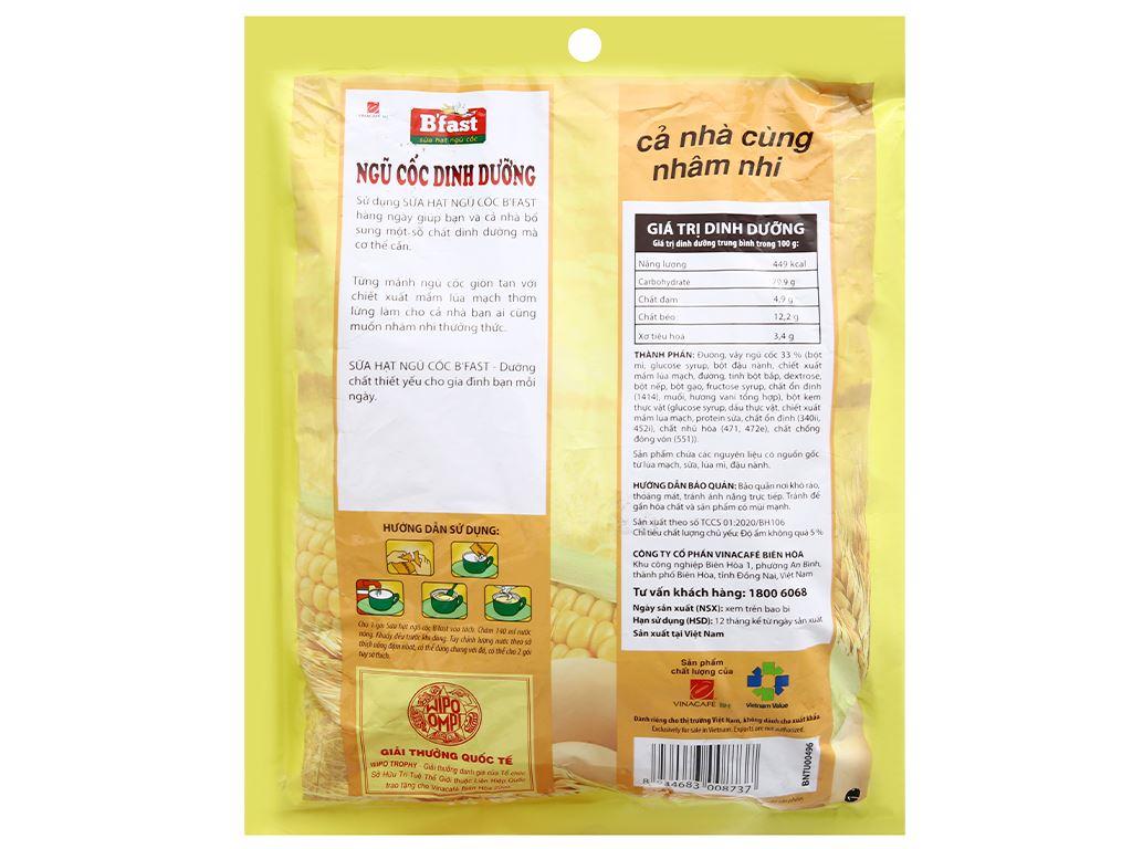 Ngũ cốc dinh dưỡng VinaCafé B'fast bịch 500g 8