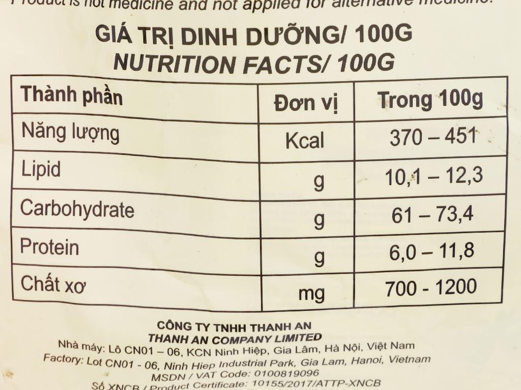 Bột ngũ cốc ăn kiêng Việt Đài bịch 600g 8