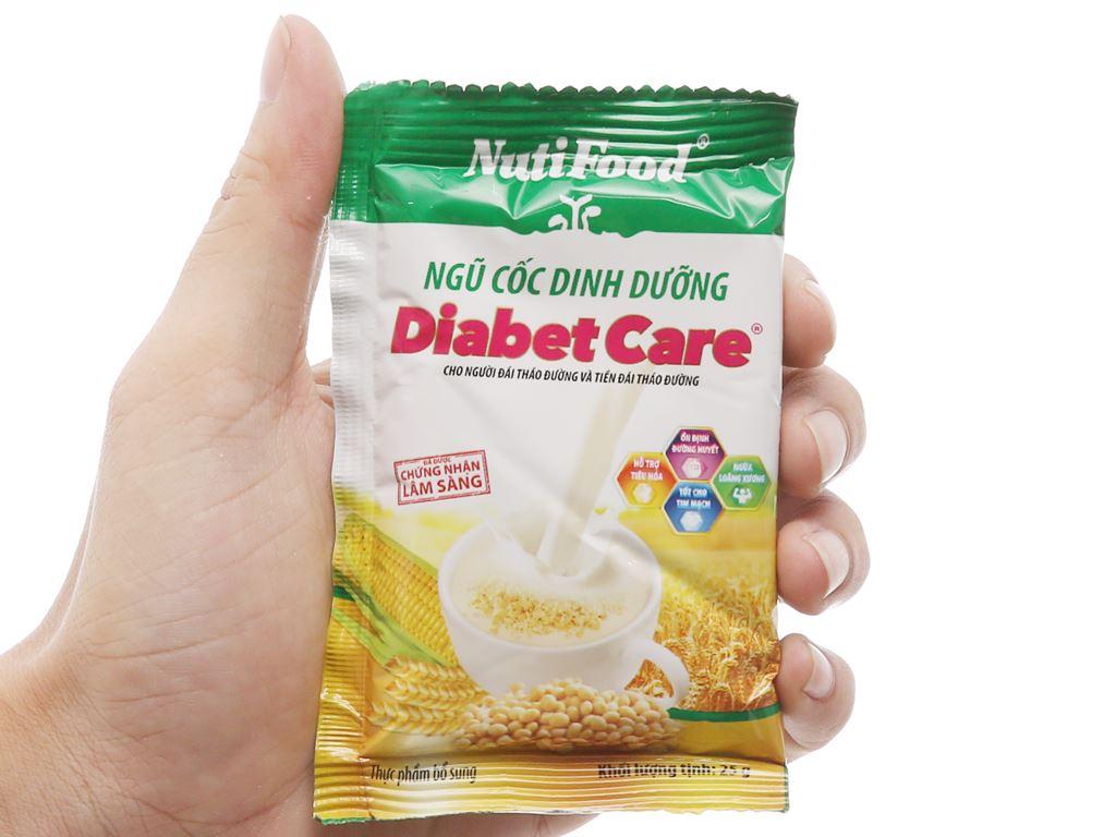 Ngũ cốc dinh dưỡng nguyên cám NutiFood Diabet Care bịch 400g 10