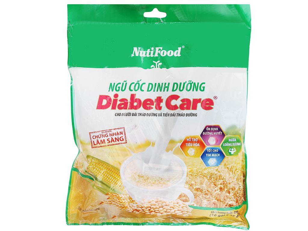 Ngũ cốc dinh dưỡng nguyên cám NutiFood Diabet Care bịch 400g 5