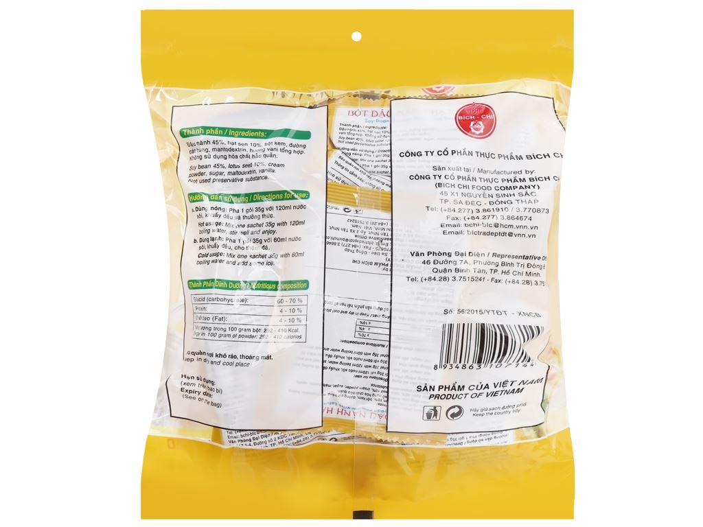 Bột đậu nành hạt sen Bích Chi bịch 350g 6