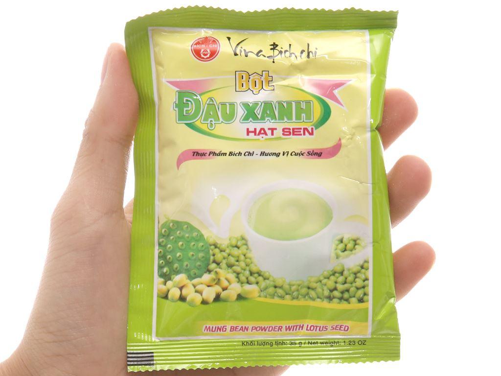 Bột đậu xanh hạt sen Bích Chi bịch 350g 8