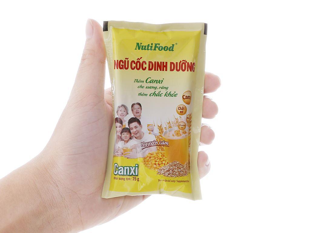 Ngũ cốc dinh dưỡng nguyên cám NutiFood bịch 500g 13