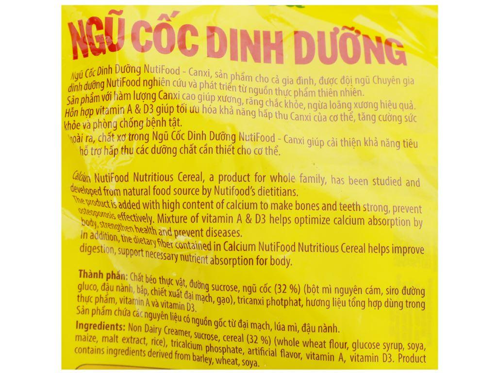 Ngũ cốc dinh dưỡng nguyên cám NutiFood bịch 500g 9