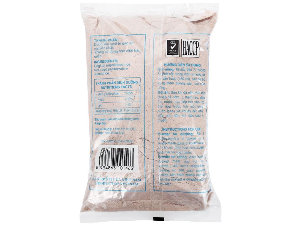 Bột gạo lứt Bích Chi gói 500g 2