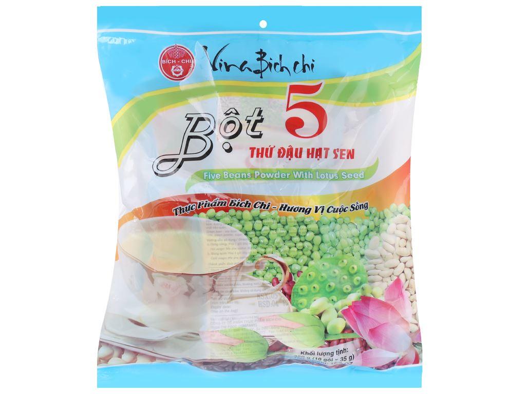 Bột 5 thứ đậu hạt sen Bích Chi bịch 350g 1