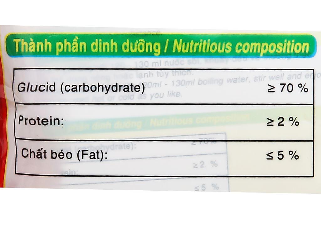 Bột gạo lứt hạt sen Bích Chi bịch 300g 17