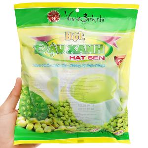 Bột đậu xanh hạt sen không đường Bích Chi bịch 300g