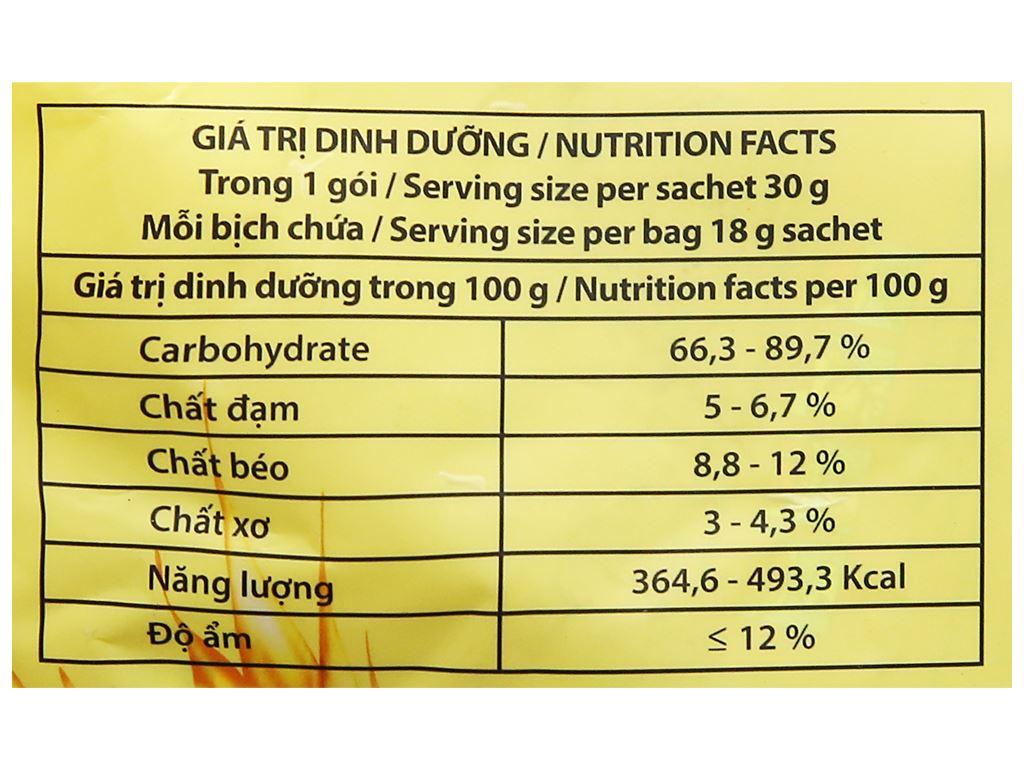 Ngũ cốc gạo lứt không đường Best Choice bịch 540g 9