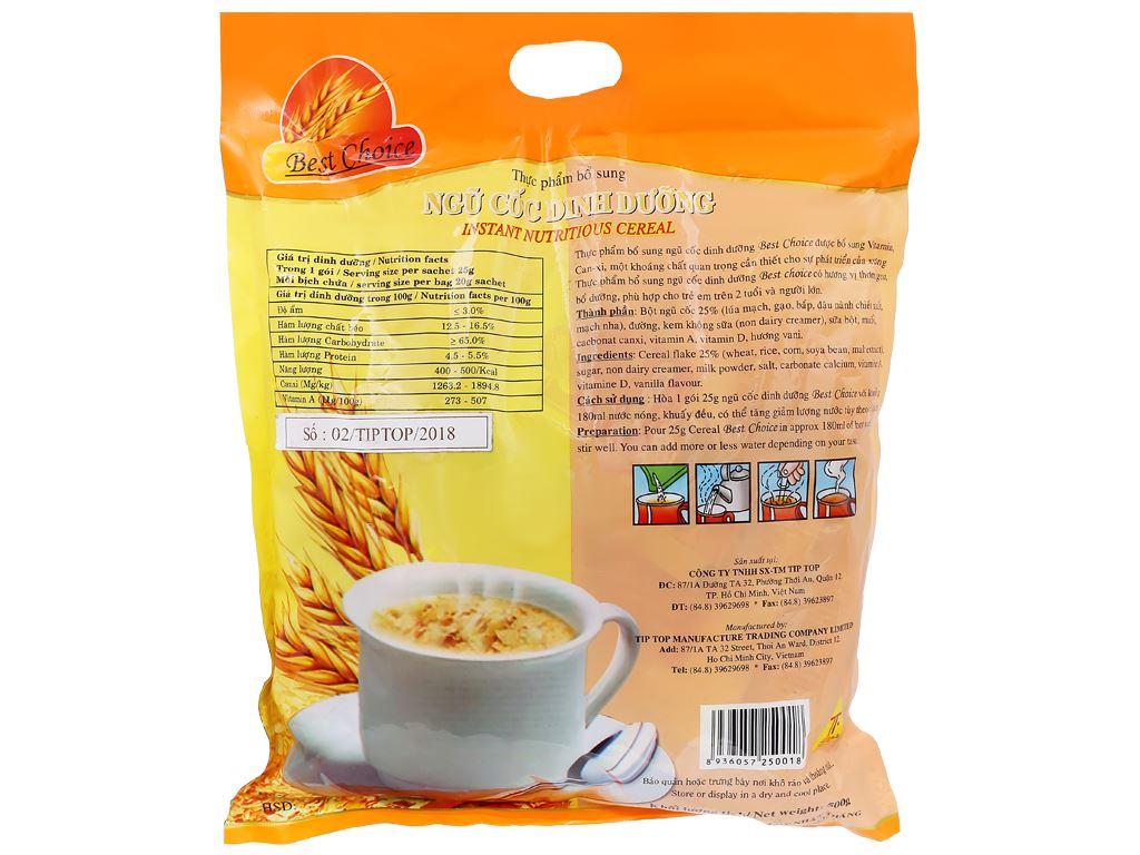 Ngũ cốc dinh dưỡng Best Choice bịch 500g 2