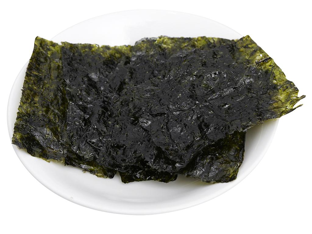 Lốc 3 gói rong biển ăn liền vị truyền thống Bibigo 5g 7