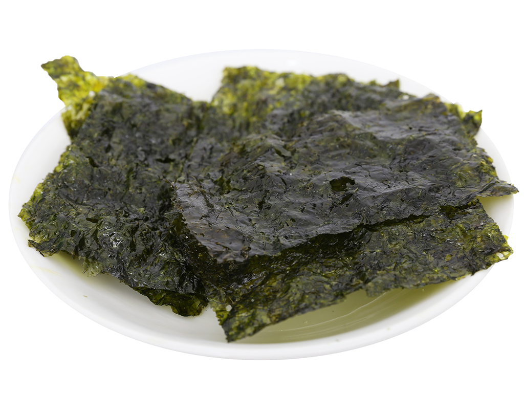 Lốc 3 gói rong biển ăn liền vị truyền thống Alchan Jaerae Kim 4.5g 7