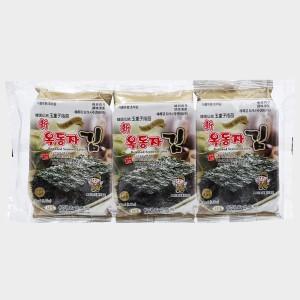 Lốc 3 gói rong biển ăn liền Ock Dong Ja vị truyền thống 4.5g