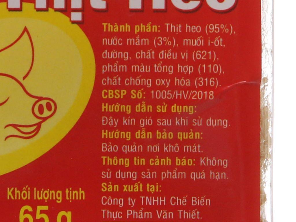 Chà bông heo đặc biệt Hương Việt hũ 65g 4