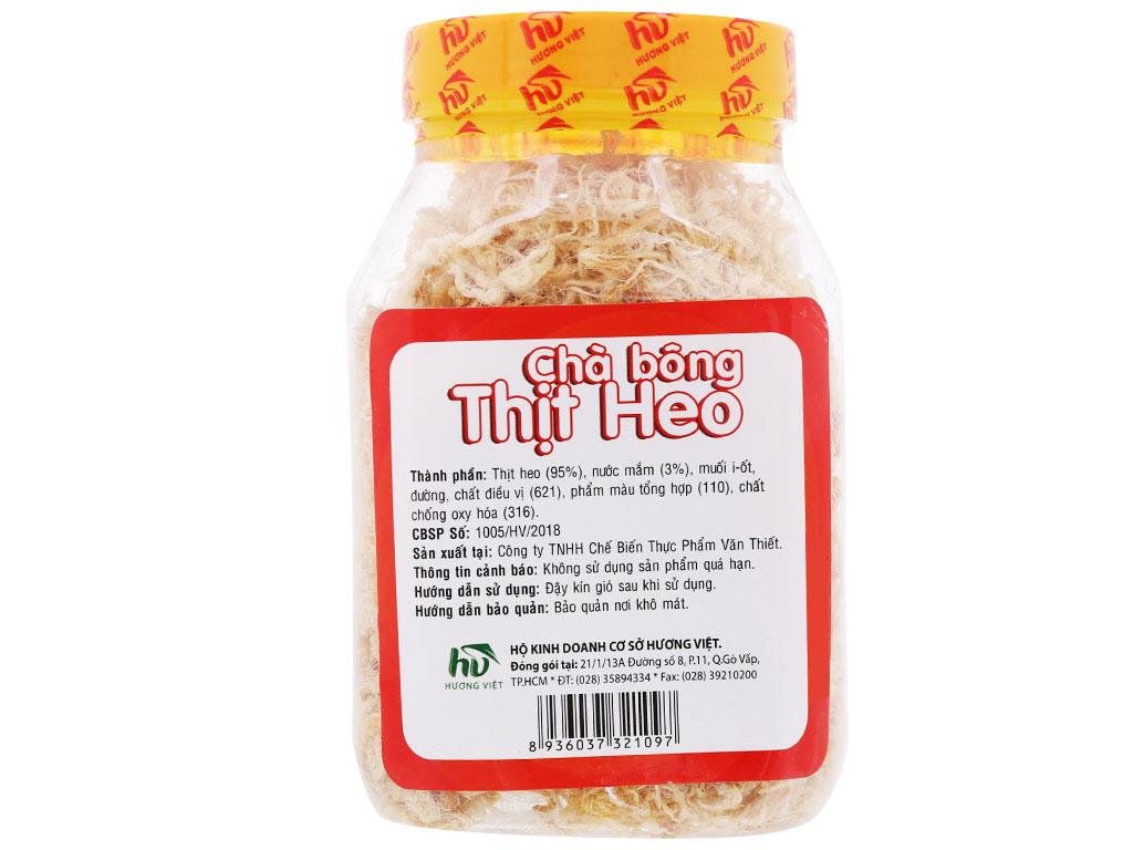 Chà bông heo đặc biệt Hương Việt hũ 110g 7