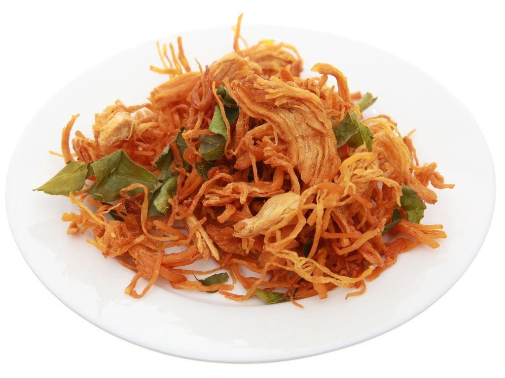 Thịt gà sấy Hương Việt hộp 80g 4