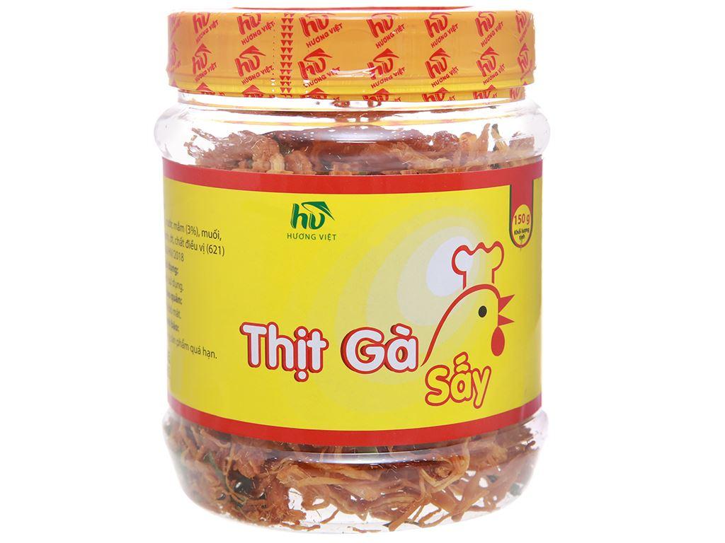 Thịt gà sấy Hương Việt hộp 150g 1