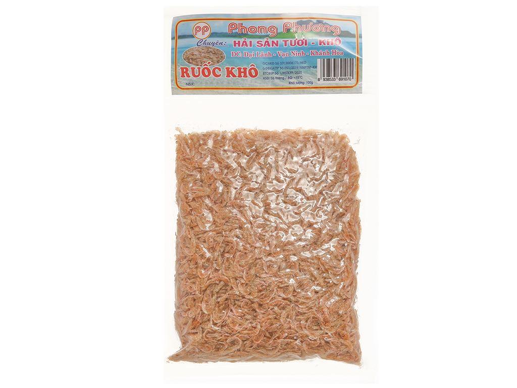 Ruốc khô Phong Phương gói 100g 1