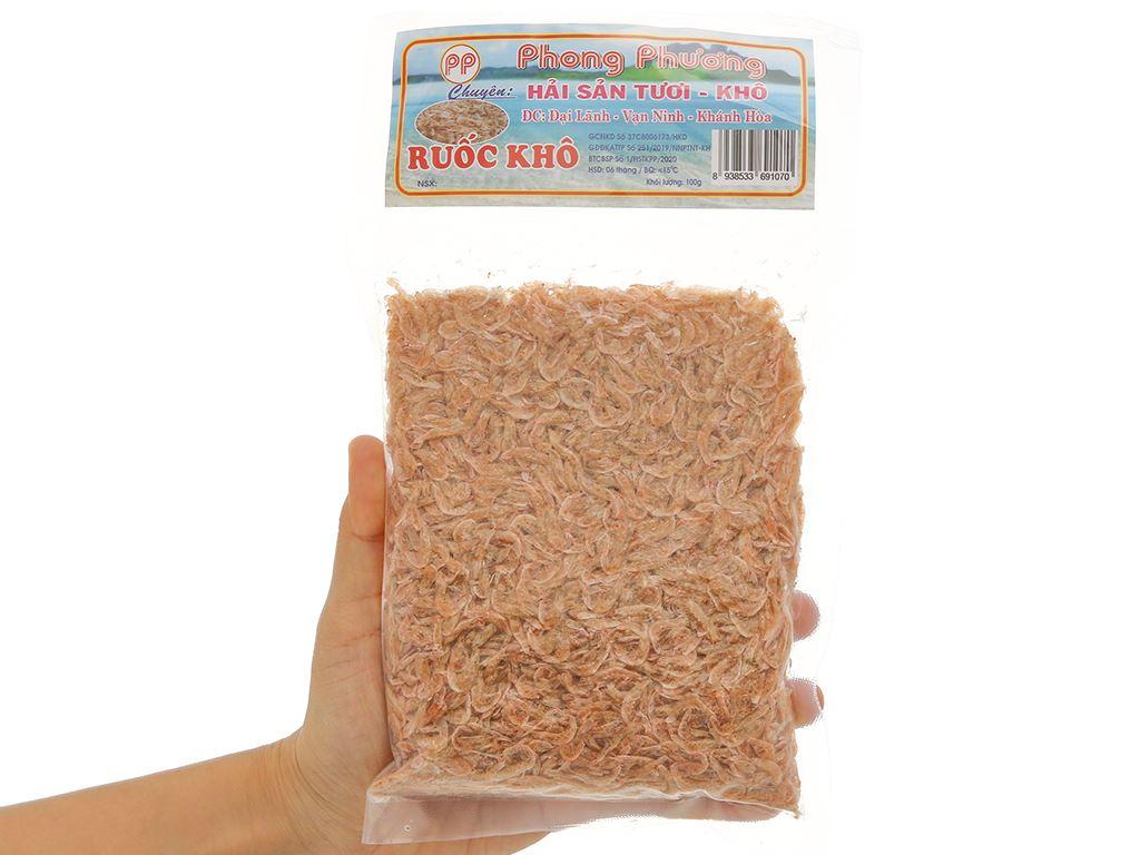 Ruốc khô Phong Phương gói 100g 4