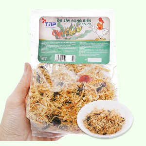 Gà sấy rong biển vị tỏi ớt Thảo Nguyên Phát gói 150g