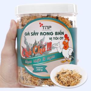 Gà sấy rong biển vị tỏi ớt Thảo Nguyên Phát hũ 250g