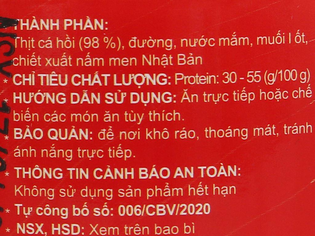 Chà bông cá hồi Chà bông Việt hũ 40g 3