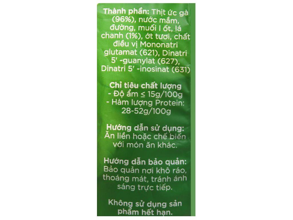 Khô gà lá chanh Chà bông Việt gói 50g 3