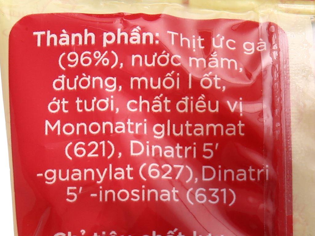 Khô gà cay Chà bông Việt gói 50g 3