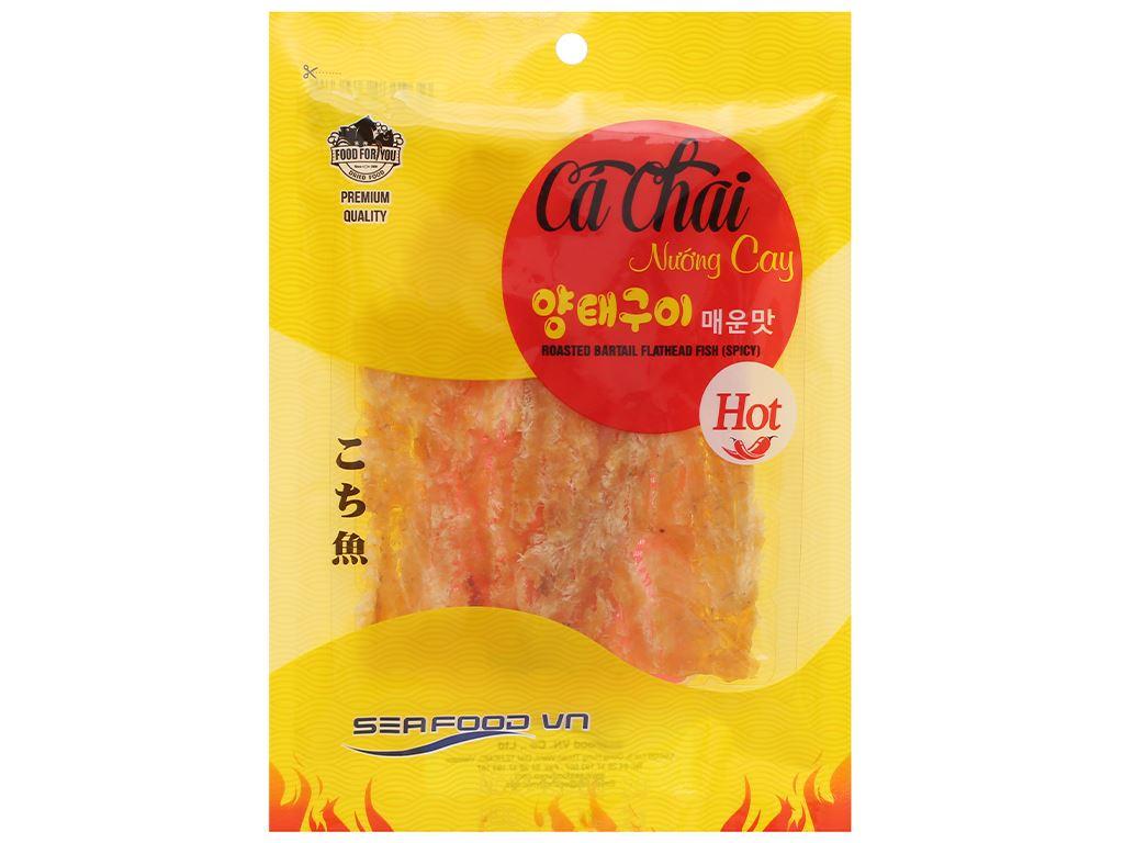 Cá chai nướng cay Seafood gói 35g 1