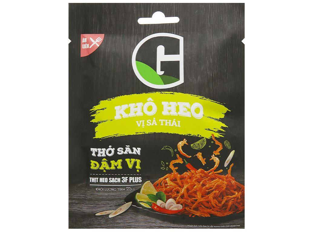 Khô heo vị sả Thái G Kitchen gói 25g 1