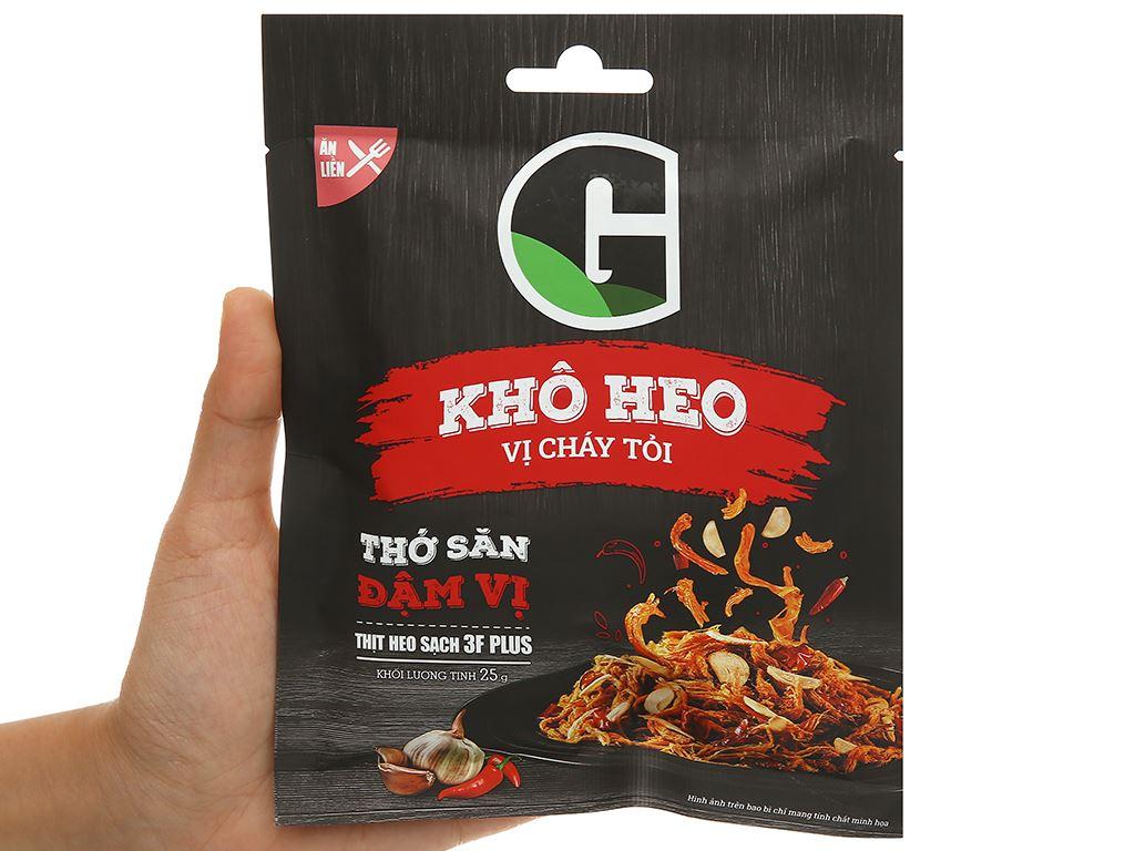 Khô heo vị cháy tỏi G Kitchen gói 25g 4