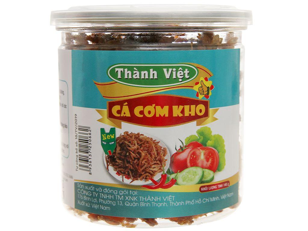 Cá cơm kho Thành Việt hũ 140g 1