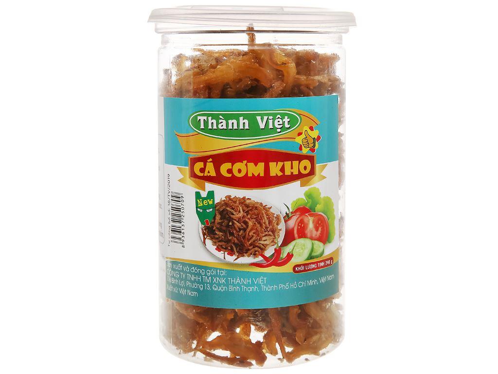 Cá cơm kho Thành Việt hũ 240g 1