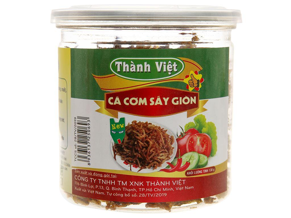 Cá cơm sấy giòn Thành Việt hũ 130g 1