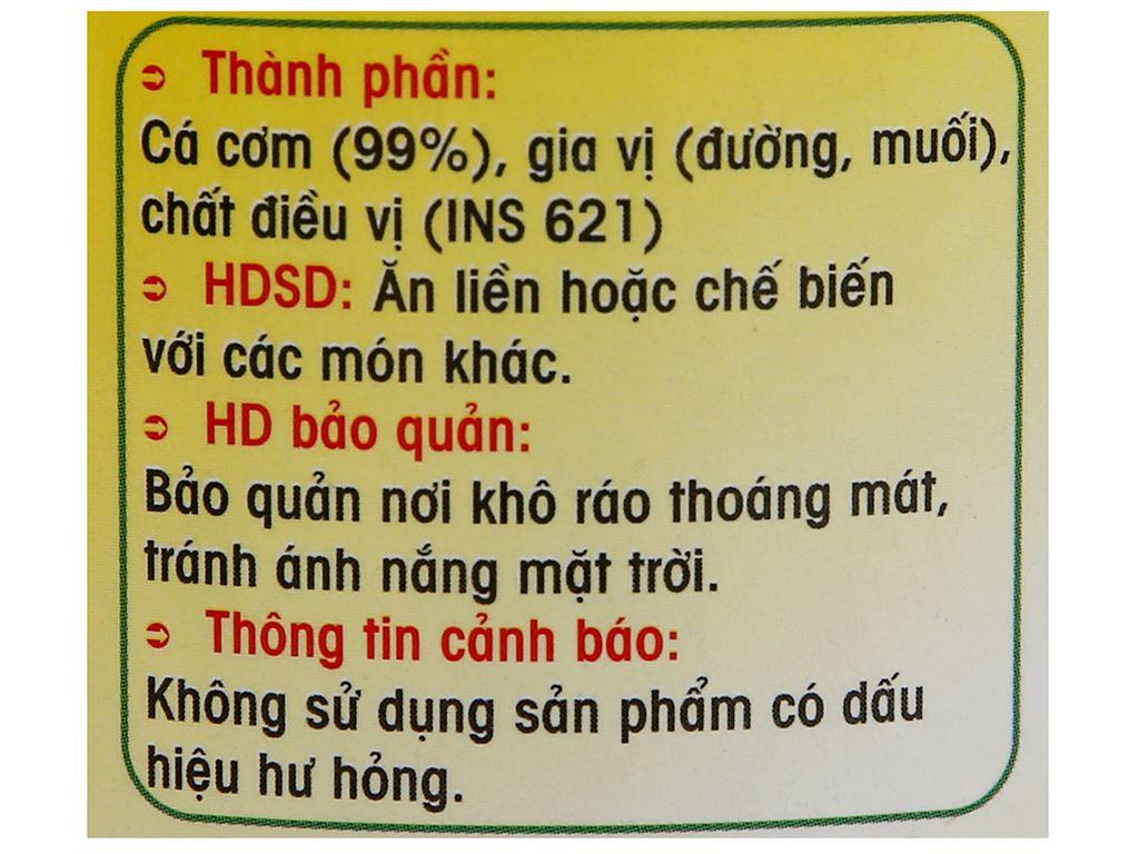 Cá cơm sấy giòn Thành Việt hũ 130g 3