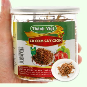 Cá cơm sấy giòn Thành Việt hũ 130g