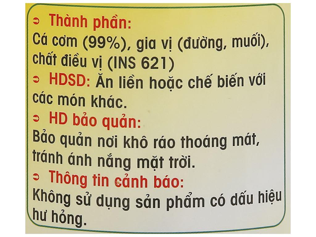 Cá cơm sấy giòn Thành Việt hũ 200g 3