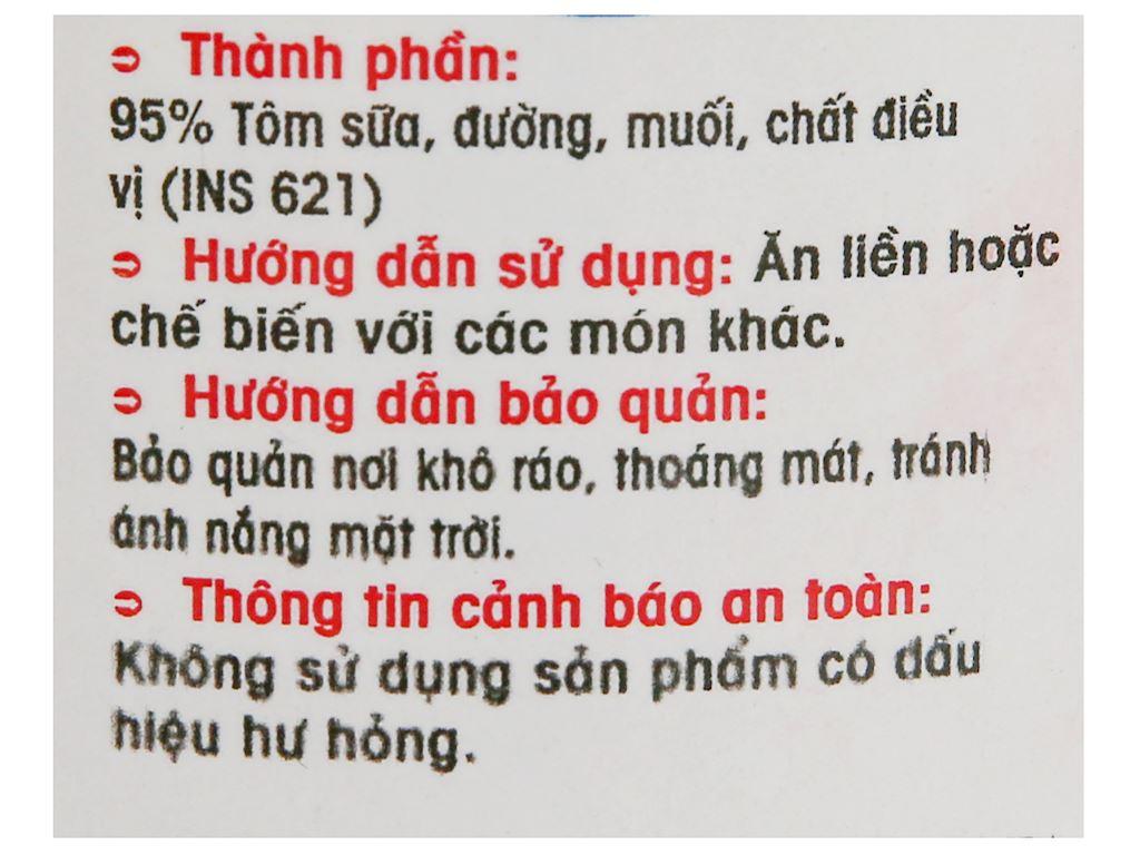 Tôm tẩm sốt Thành Việt hũ 130g 3