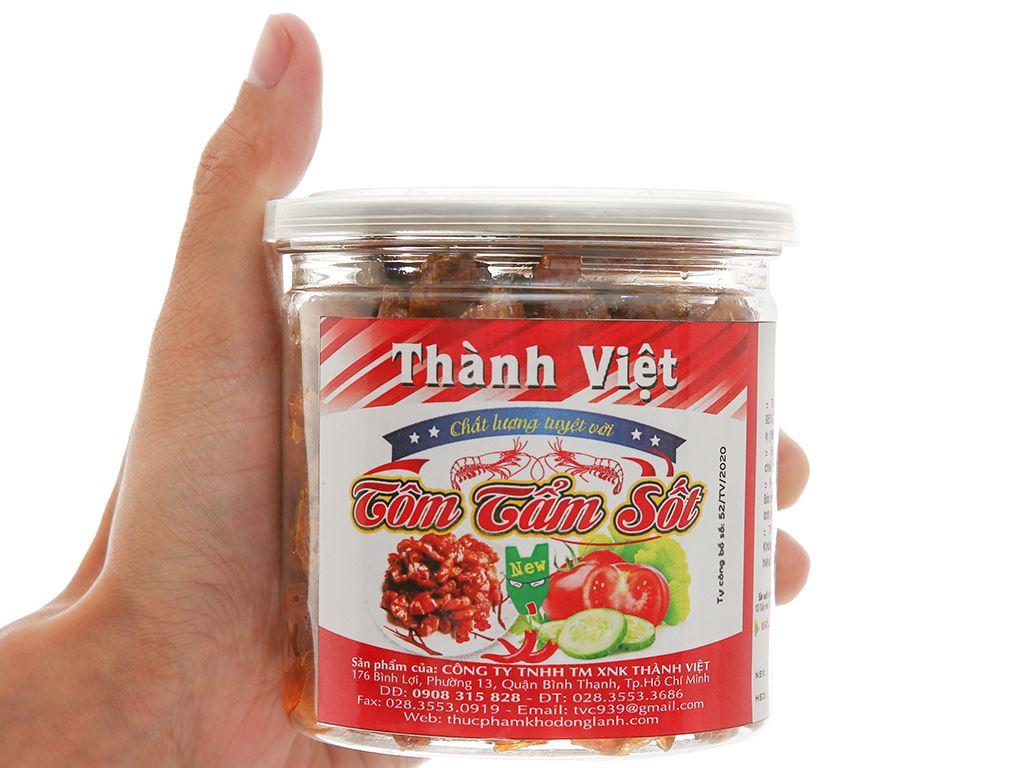 Tôm tẩm sốt Thành Việt hũ 130g 4