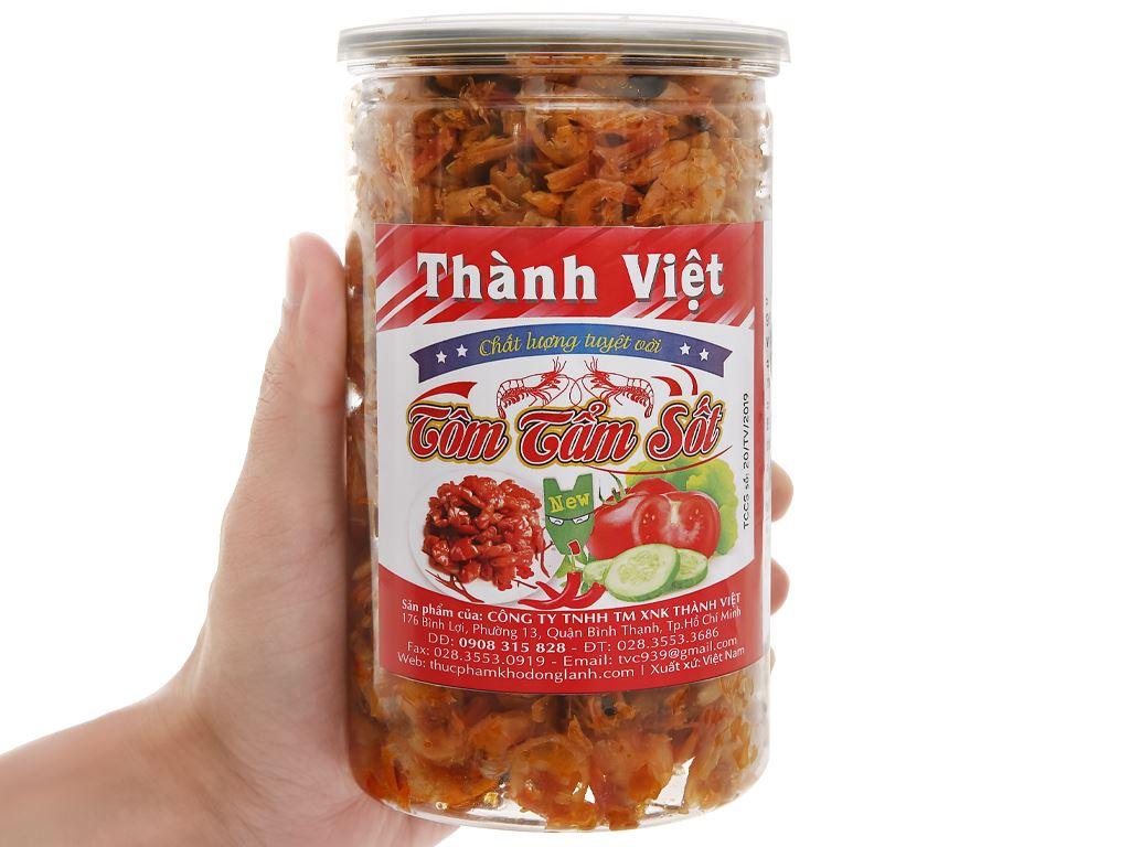 Tôm tẩm sốt Thành Việt hũ 240g 4