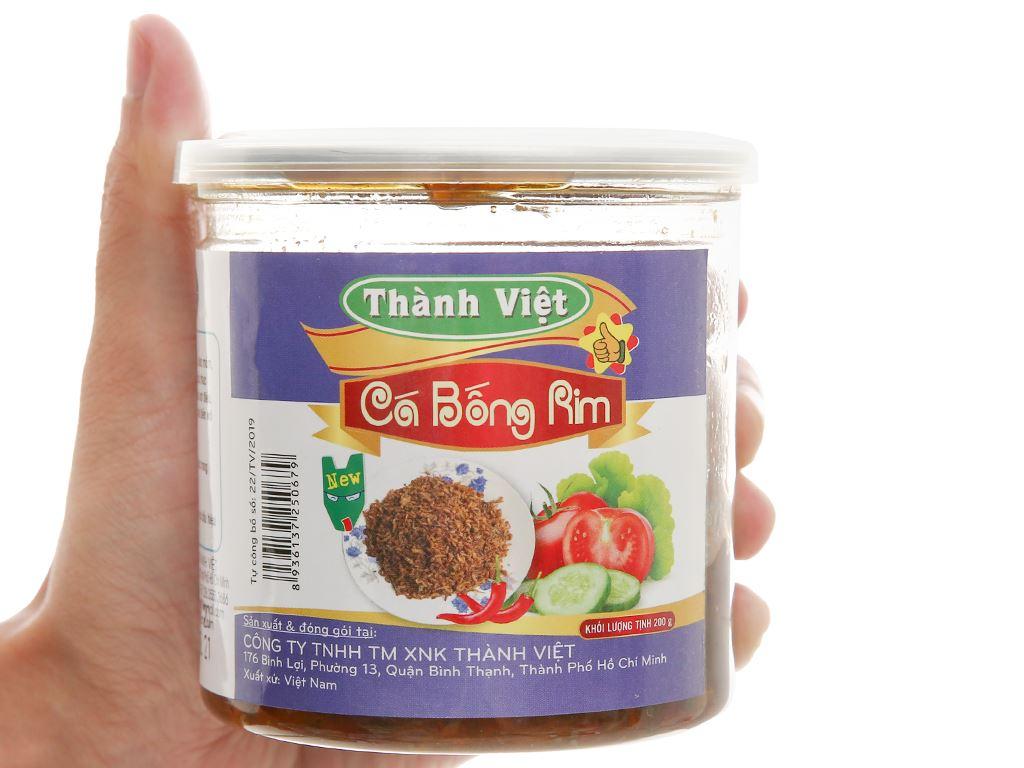 Cá bống rim Thành Việt hũ 200g 4